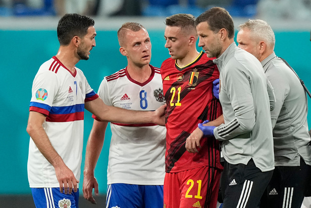 Opération et fin de l'Euro 2021 pour Timothy Castagne