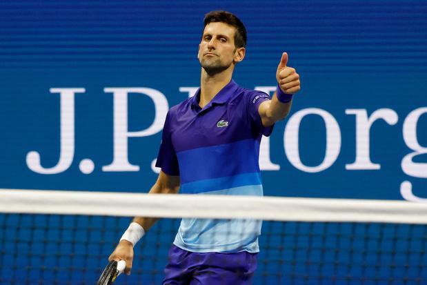 US Open: Djokovic affrontera Zverev en demies, Sakkari s'invite dans le dernier carré féminin