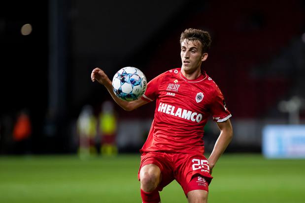 Alexis De Sart, prêté par l'Antwerp à OHL