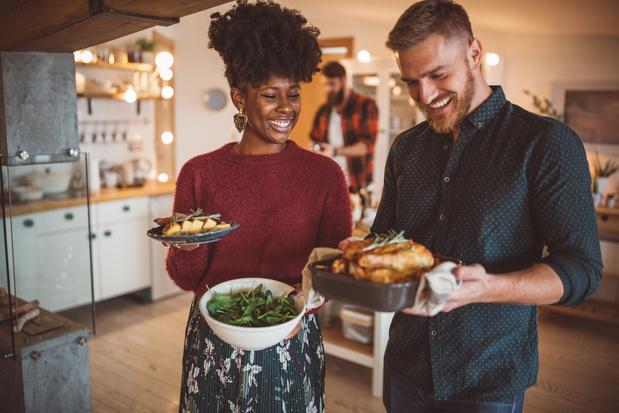 Feestkoken voor vrienden en familie: drie menu's voor handige take-away