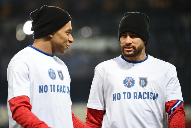 """Neymar: """"Le racisme n'a plus sa place dans le foot ni dans la vie"""""""