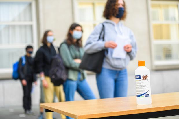 Coronavirus : Vers le code orange dans l'enseignement ?