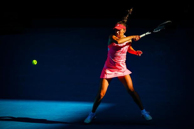 """Elise Mertens, en 1/8es de finale de l'Open d'Australie : """"Je veux faire mieux que l'an dernier"""""""