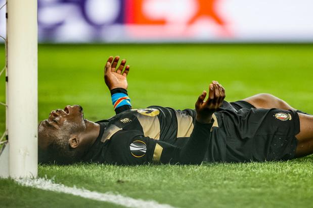 Jackson Muleka absent entre quatre et six semaines