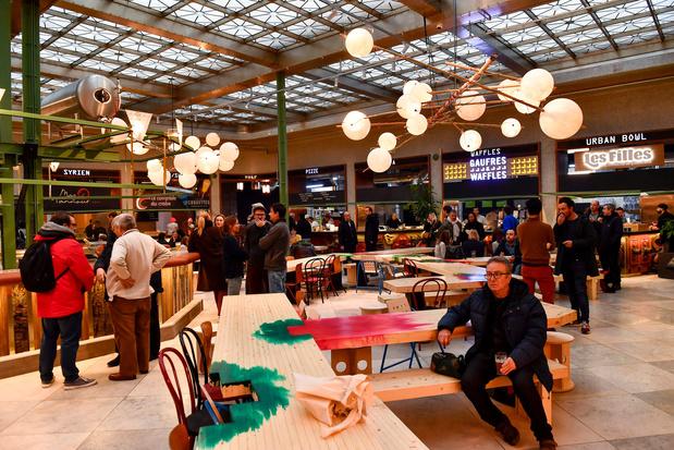 """""""Wolf"""", le nouveau food market de Bruxelles (photos)"""