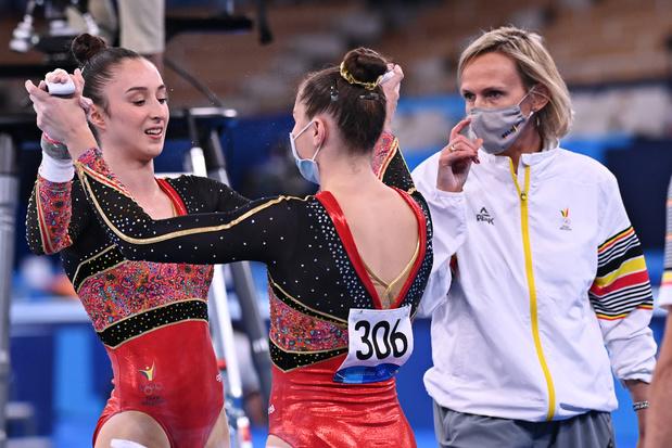 Gymnastique: la Belgique en finale par équipes, Derwael (2x) et Verkest finalistes en individuel