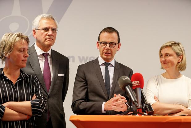 """Gouvernement minoritaire en Flandre? """"La N-VA doit oser prendre ses responsabilités"""""""
