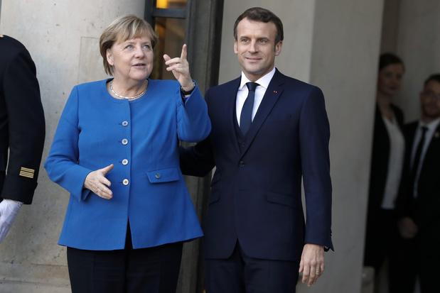 """Plan de relance de l'UE: Macron et Merkel expriment """"l'espoir"""" d'un accord"""