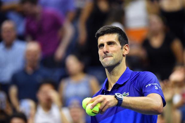 US Open: Djokovic passe en concédant un set, le médaillé d'argent de Tokyo prend la porte