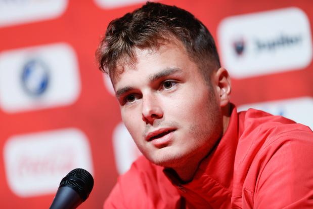 """Vanheusden veut devenir leader de la défense: """"La Coupe du monde au Qatar est un objectif"""""""