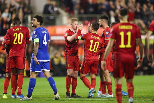 Equipe de l'année UEFA: trois Belges parmi les nominés