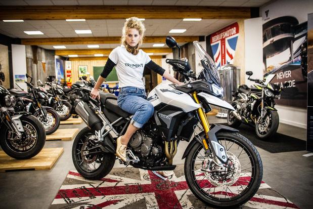 Stefanie Callebaut nommée ambassadrice Triumph