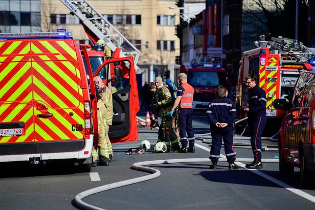 Près de cinquante interventions des pompiers à Bruxelles dimanche suite aux intempéries