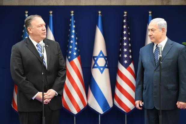 """Netanyahu va demander à Pompeo """"d'augmenter la pression"""" sur un Iran """"vacillant"""""""