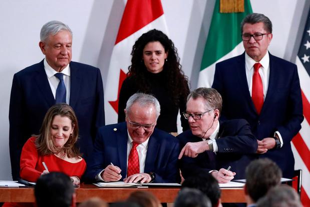 Nieuwe Noord-Amerikaanse handelsdeal ondertekend na compromis met Democraten VS