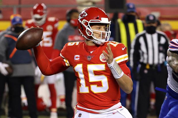 Super Bowl: droomfinale tussen Buccaneers van Brady en Chiefs van Mahomes