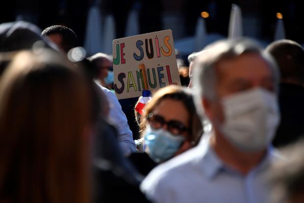 Franse regering versterkt veiligheid in scholen na onthoofding leraar