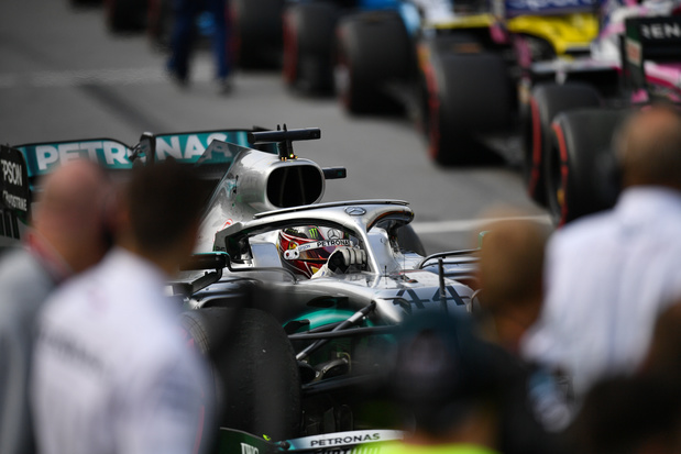 Les mesures draconiennes prises pour de la reprise de la F1