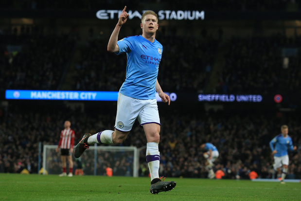 Un but et un assist pour De Bruyne, artisan de la victoire de City (vidéo)