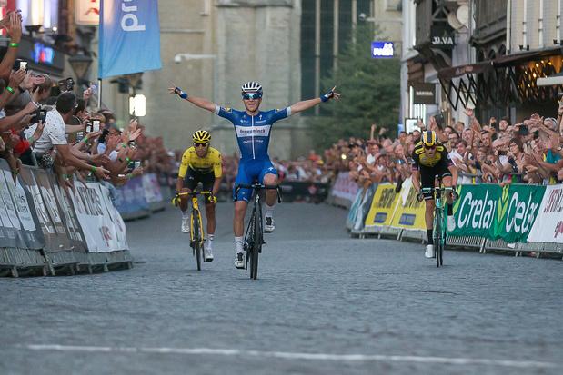 Remco Evenepoel gagne le critérium d'Alost devant Egan Bernal