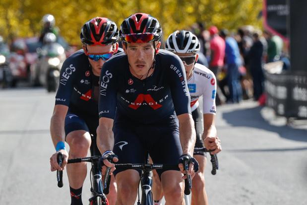 La 20e étape pour Geoghegan Hart qui passe en tête du Giro... avec Hindley, maillot rose