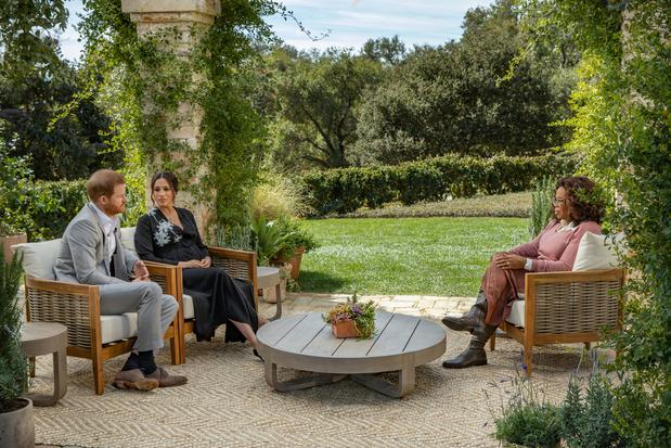 Bijna miljoen Vlamingen bekeek interview Harry en Meghan op Eén