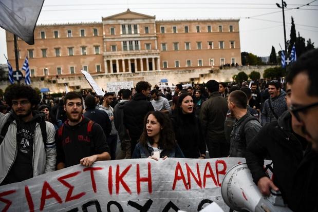 En Grèce, les jeunes frappés par la crise blâment l'Europe
