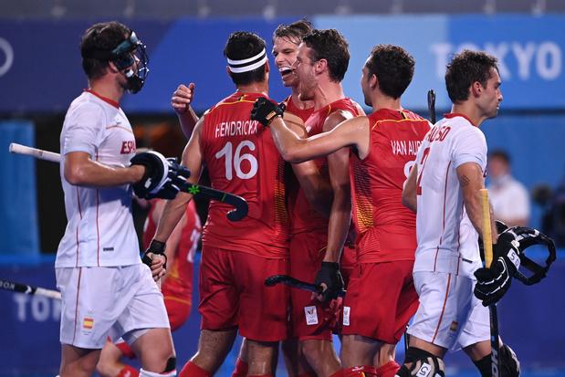 Red Lions halen achterstand op tegen Spanje en boeken ticket voor halve finales