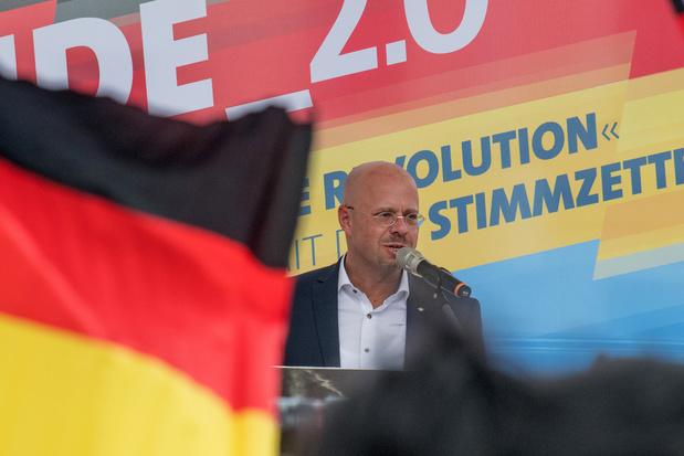 L'extrême droite allemande lance en ex-RDA sa campagne pour les élections locales