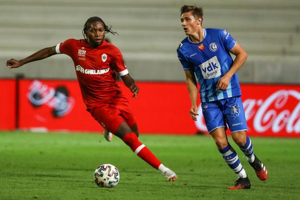 L'Antwerp arrache sa première victoire contre Gand, qui aligne une troisième défaite