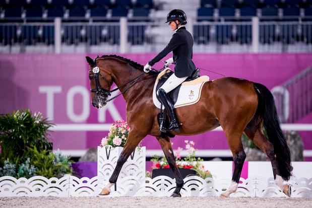 Geen twee zonder drie: Michèle George verovert goud en derde Belgische medaille op Paralympics