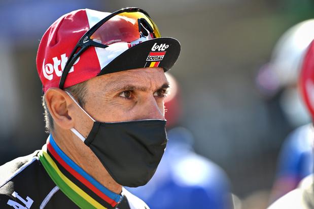 Philippe Gilbert hervat competitie in Waalse Pijl