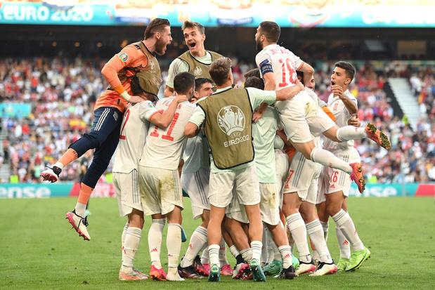 EK-weetjes van de dag: Spanje net te kort voor paar records, België bezig aan knappe reeks