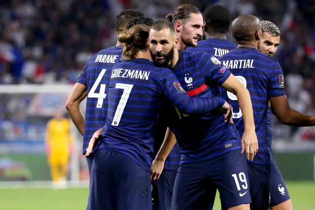 Geen Kanté en Giroud bij Frankrijk voor Nations League tegen Rode Duivels