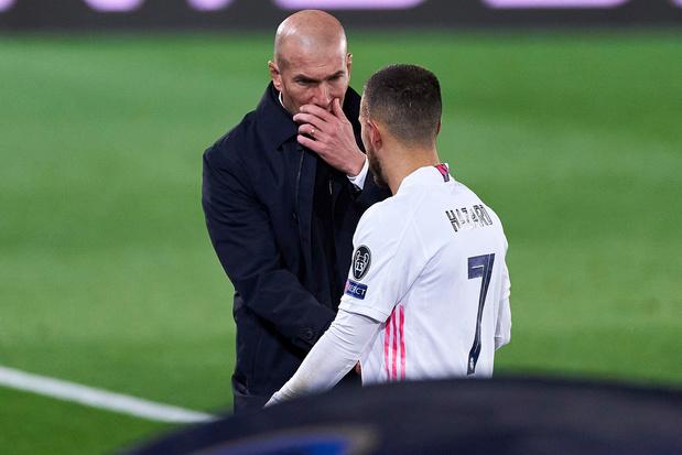 Real-coach Zidane rekent in titeljacht op Hazard: 'Eden zal nog veel laten zien'