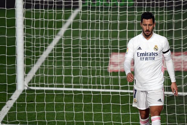 Eden Hazard toujours pas dans la sélection du Real Madrid