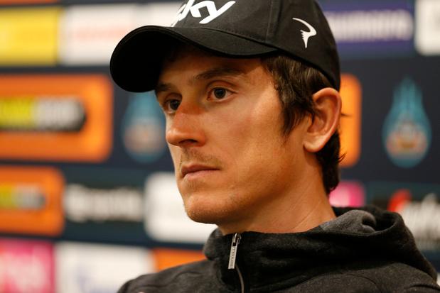 Tour de Suisse: abandon de Geraint Thomas après une chute