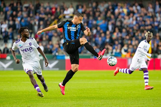 Pro League: Le FC Bruges co-leader après sa victoire, partage pour Charleroi, défaite pour l'Union