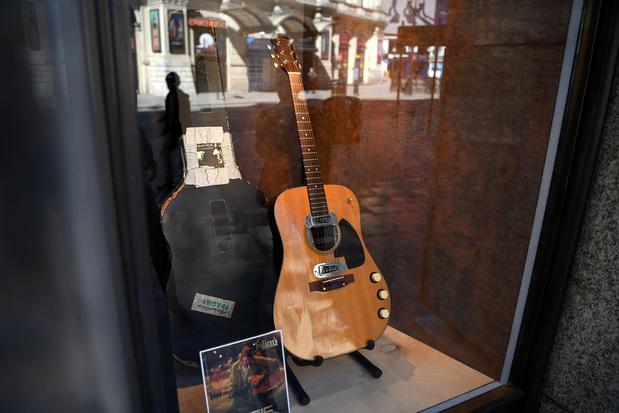 La guitare de Kurt Cobain aux enchères pour un montant record de 6 millions de dollars