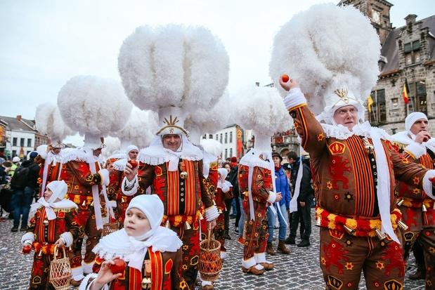 Binche débutera dimanche les festivités de son célèbre carnaval