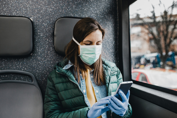 L'académie de médecine recommande le port du masque en tissu