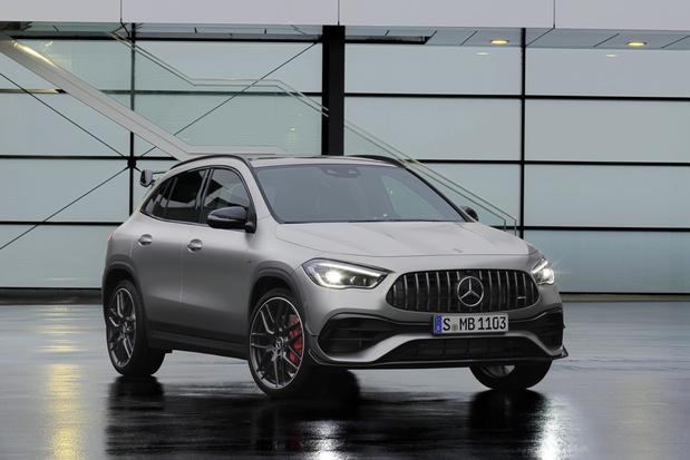 De nieuwe Mercedes GLA AMG heeft pit