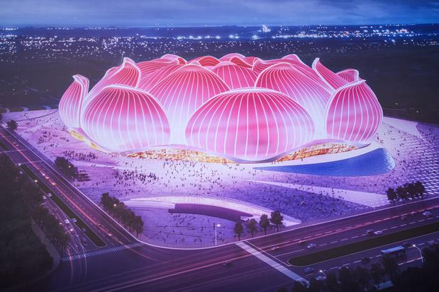 Evergrande va construire deux stades de 80.000 places en Chine