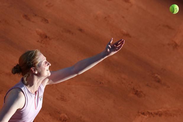 Roland-Garros: Alison Van Uytvanck éliminée au premier tour