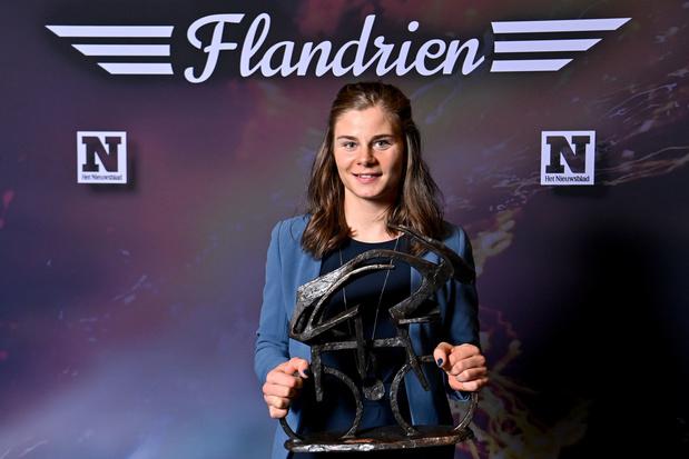Lotte Kopecky is Flandrienne van het jaar, Wout van Aert Flandrien
