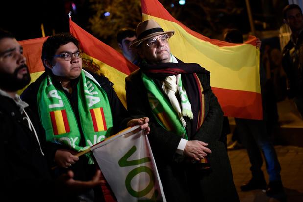 Sociaaldemocraten winnen Spaanse verkiezingen, rechts-populisten groeien
