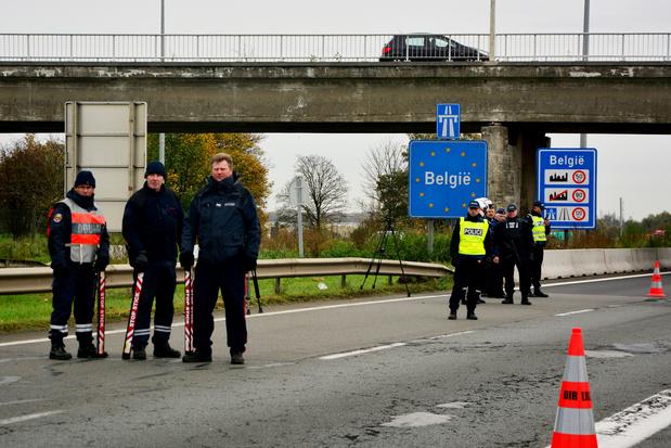 La Belgique renforce ses contrôles aux frontières