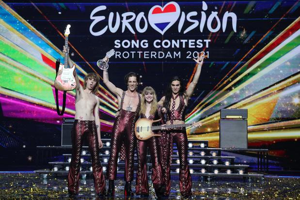 L'Italie remporte l'Eurovision tandis que la Belgique finit 19e