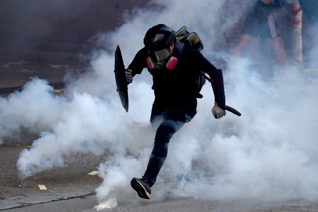 L'anniversaire du régime chinois éclipsé par la violence à Hong Kong