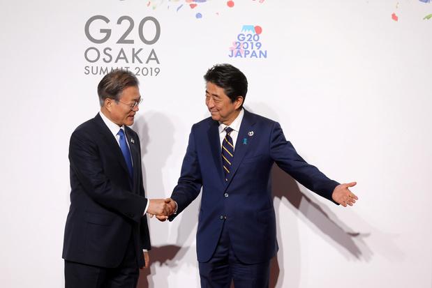 Japan beperkt uitvoer technologie naar Zuid-Korea